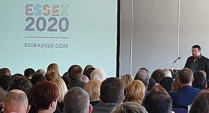 Richard Freeman addresses the Essex Assembly