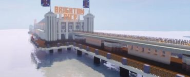 A Minecraft version of Brighton Pier