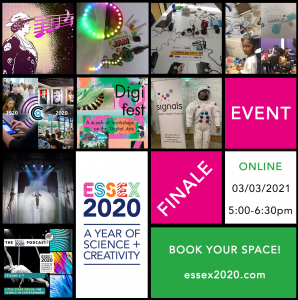 Essex 2020 Finale Event 3rd March 2021 at 5pm