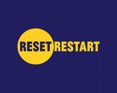 Reset. Restart logo