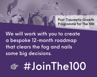 The 100 - we will work with you to create a bespoke 12-month roadmap that clears the fog and nails some big decisions