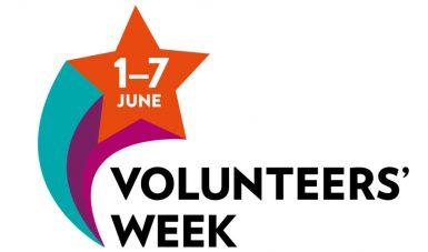 1-7 June. Volunteers' Week