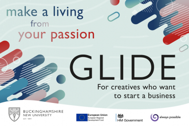GLIDE for creatives who want to start a business