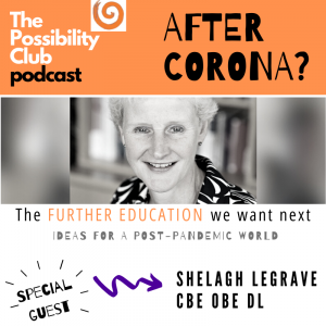 Shelagh Legrave on Further Education
