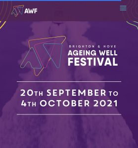 Ageing Well Festival - 20th September to 4th October 2021