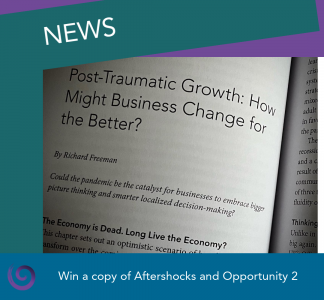 News - win a copy of Aftershocks and Opportunity 2
